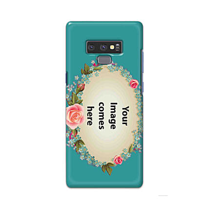 Samsung Galaxy Note 9 Customised Floral Mobile Case: Personalised Samsung Mobile Covers